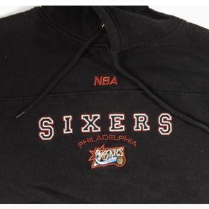 PHILADELPHIA 76ers NBA HOODED SWEATSHIRT